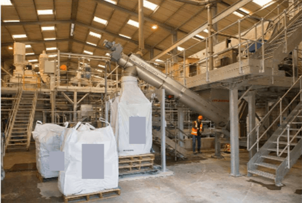 Mineral MFC composite production plant in the UK